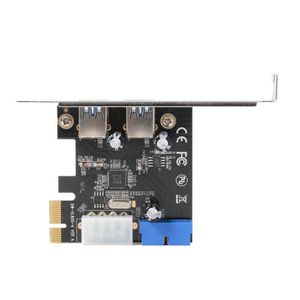 CARTE CONTROLEUR XCSOURCE Carte d'extension Bureau PCIE ver USB 3.0