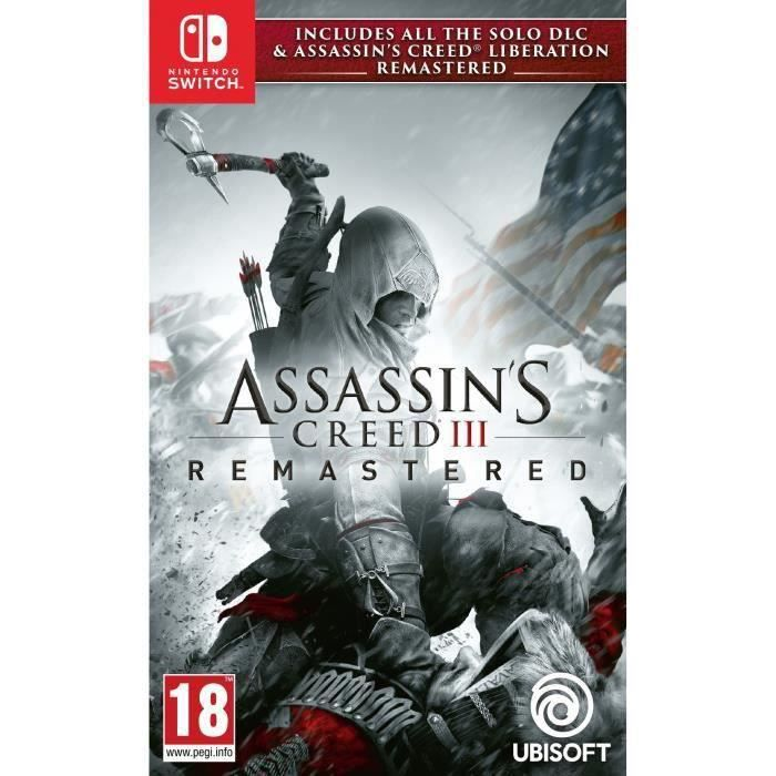 JEU NINTENDO SWITCH Assassin's Creed 3 + Assassin's Creed Liberation R