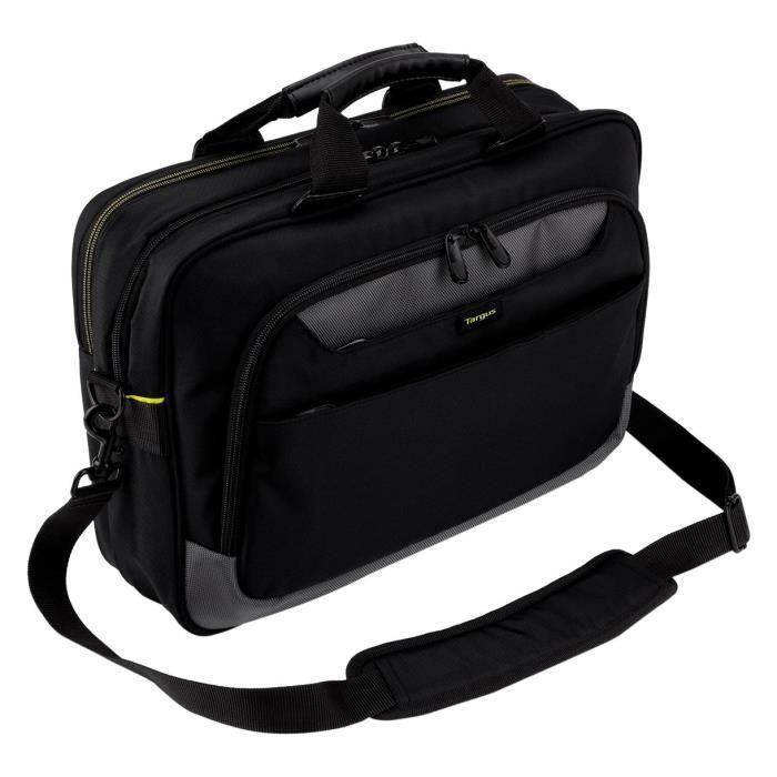 """Targus CityGear TCG470EU Sacoche pour ordinateur portable 15 – 17.3"""" Laptop Bag - Noir"""