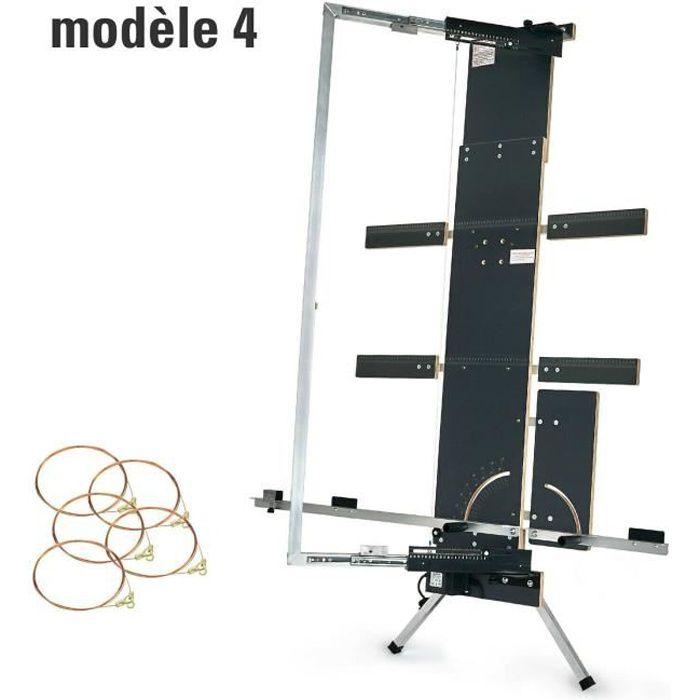 Machine de découpe polystyrène. Appareil de découpe à fil. GAZELLE n° 4, 1.300mm, 200 watts, 5 fils