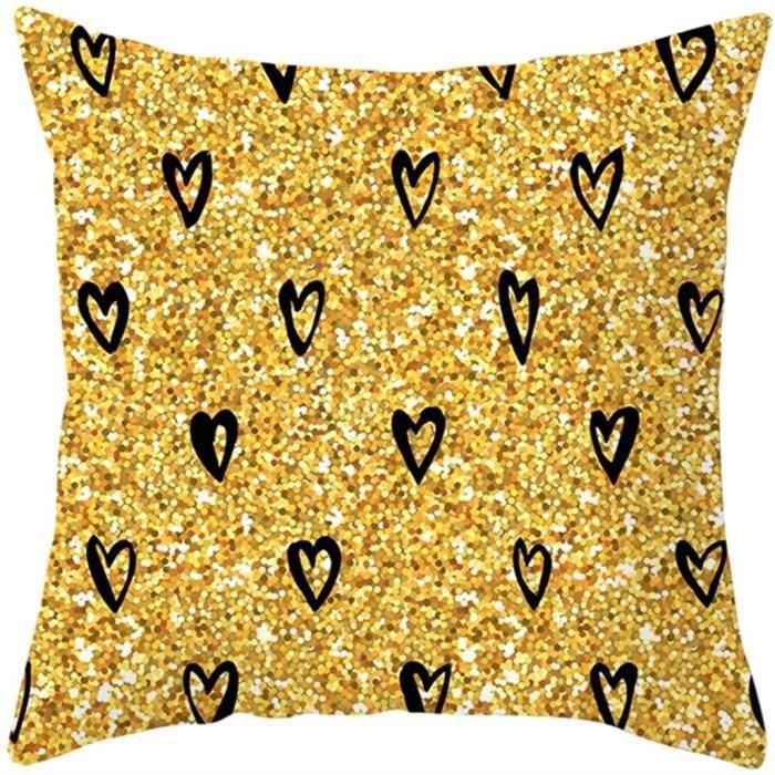 Cadeaux de la Saint-Valentin Oreiller Sweet Home Motif de caractère nordique Ins Love d2038