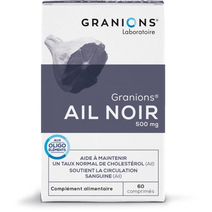 GRANIONS® AIL NOIR 60 COMPRIMÉS