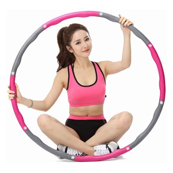 ##Hula Hoop Anneau De Roulement Pour Forme Physique D'Entraînement Doux Détachable De Section D'Adultes