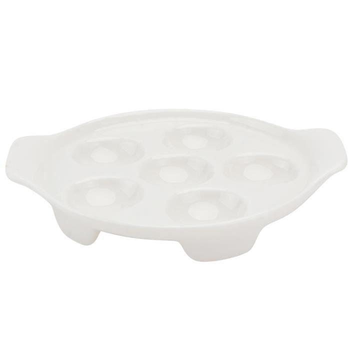 1 Pc escargot plat de cuisson conque de ustensiles de pour cuisine pique-nique de à domicile ASSIETTE - PLATEAU REPAS