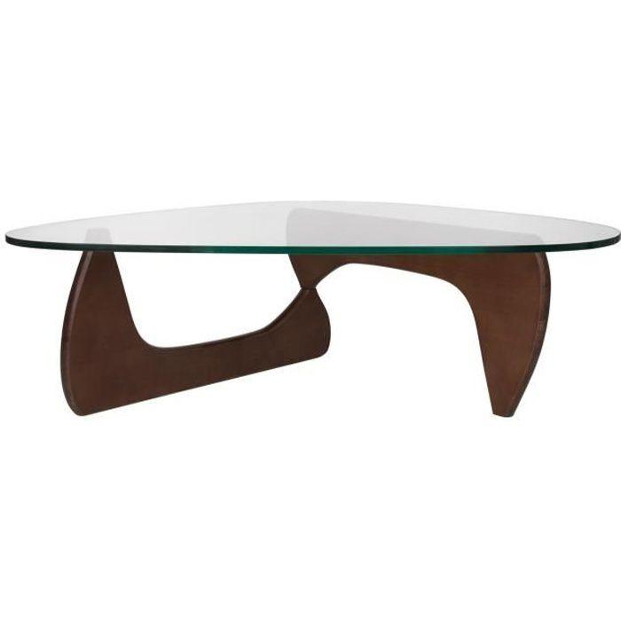 Table Chi Marron Wengé