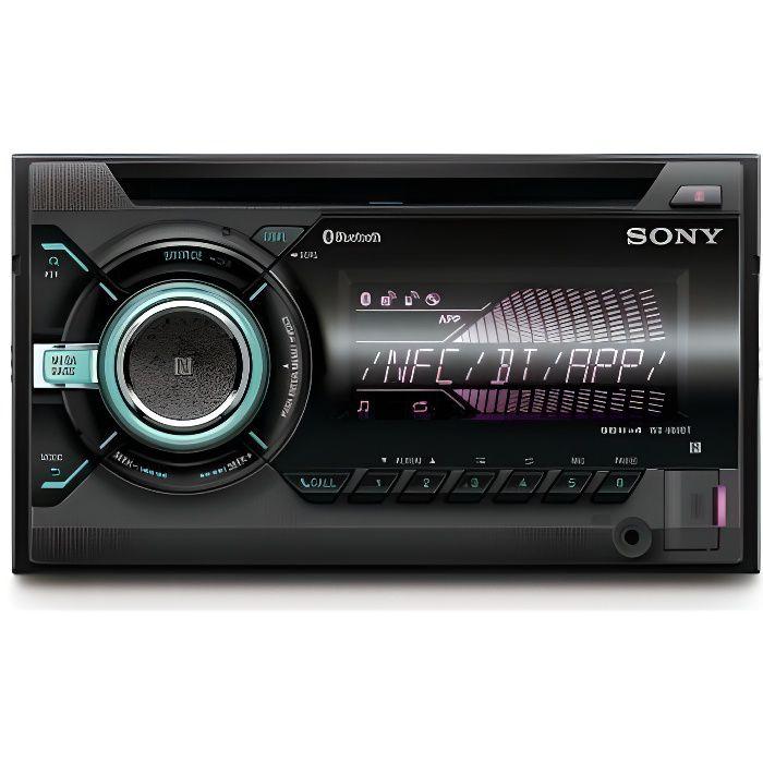 SONY Autoradio Stéréo Bluetooth Double-din WX-900BT
