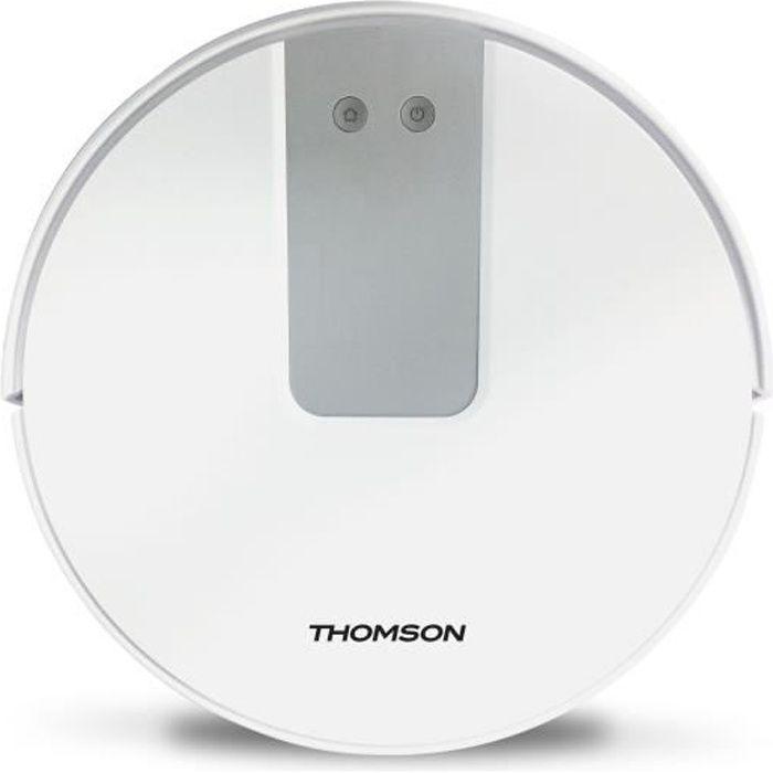 THOMSON THVC94BC - Aspirateur robot - 3 modes de navigation - Autonomie jusqu'à 120 min - Filtre HEPA