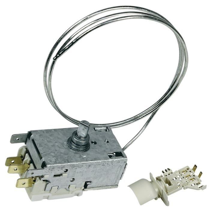 Thermostat A130705 - Réfrigérateur, congélateur - BAUKNECHT, LADEN, WHIRLPOOL, IGNIS, IKEA WHIRLPOOL (17906)
