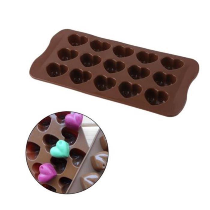 15 Cavité Mini Demi Sphere Silicone Gâteau Baking Pan Moule Argile Polymère Glace Moule