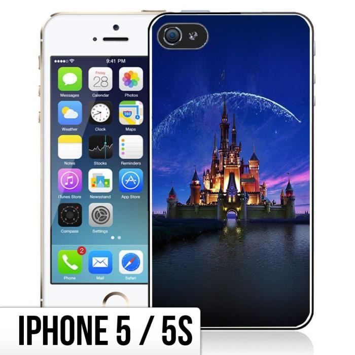 coque iphone 5 5s chateau disney