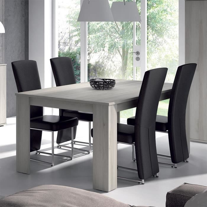 Table a manger chene gris