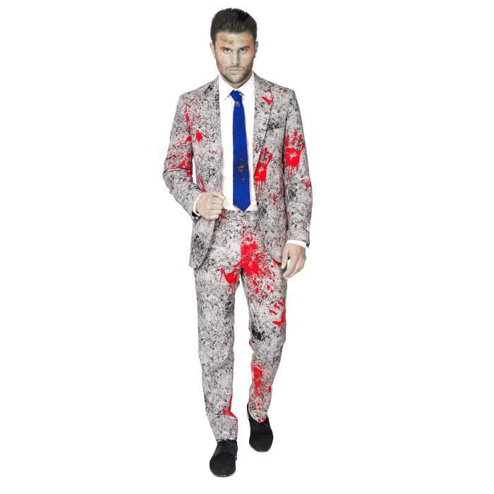 Costume zombie Opposuits homme Halloween M (50)