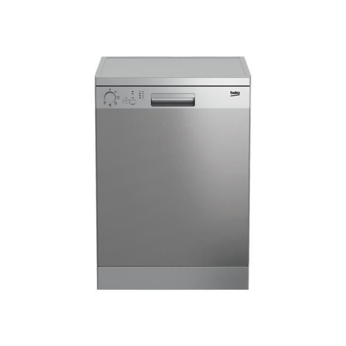LAVE-VAISSELLE Beko DFN05210X Lave-vaisselle pose libre Niche lar
