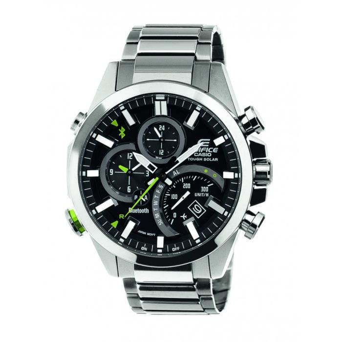 montre homme casio edifice bluetooth achat vente montre cdiscount. Black Bedroom Furniture Sets. Home Design Ideas