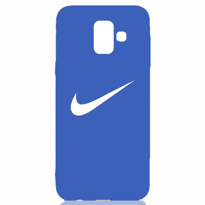 attractive price hot products check out Coque Samsung Galaxy J6 2018,NIKE Bleu Coque Bumper Housse ...