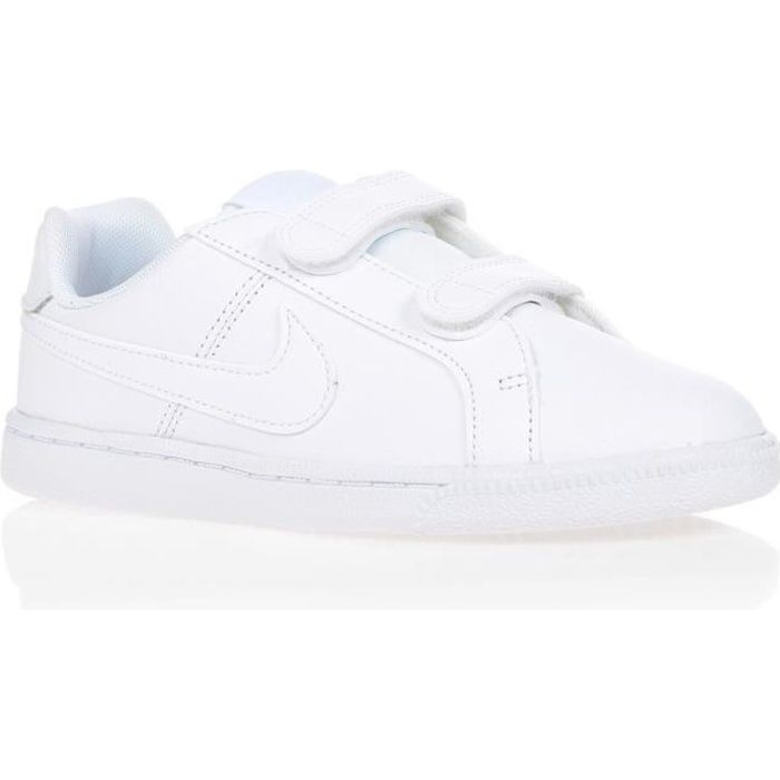 chaussures nike court royale blanc