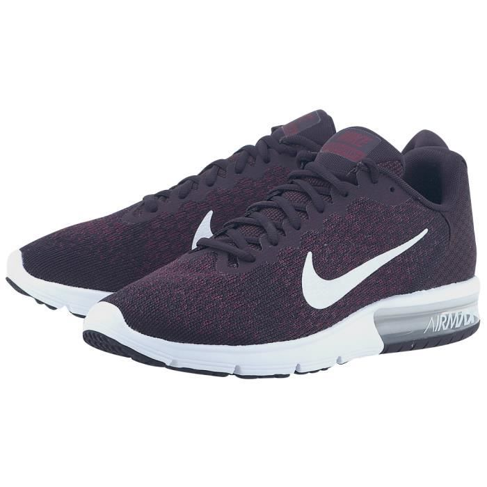 nike air max sequent 2 femme bordeaux