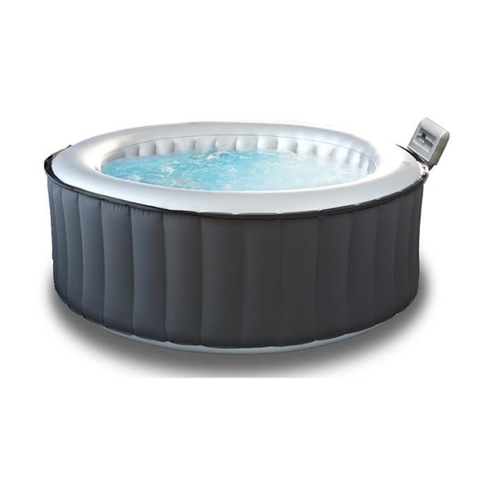 jacuzzi cdiscount Jacuzzi gonflable M-Spa SILVER CLOUD Lite 4 places