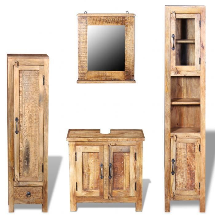 cet ensemble de meuble de salle de bain vintage y compris. Black Bedroom Furniture Sets. Home Design Ideas
