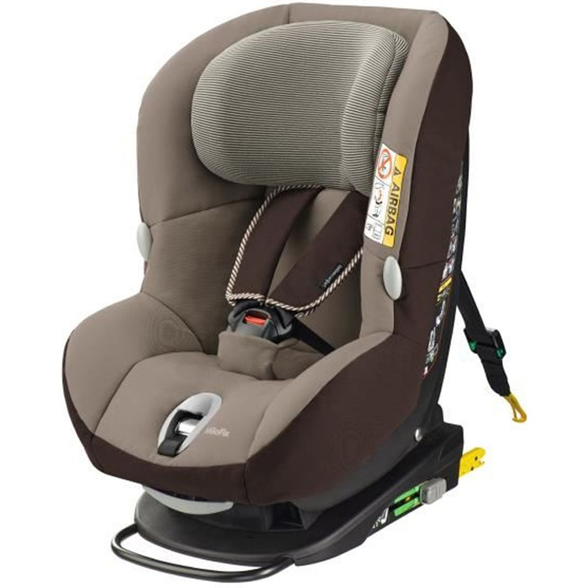 bebe confort si ge auto milofix isofix groupe 0 1 brown earth 2015 achat vente. Black Bedroom Furniture Sets. Home Design Ideas