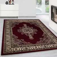 Tapis Oriental Tapis Oriental Tapis Optique Classique Médaillon Traditionnel Oriental Rouge-NEW-MARAKESH-1602300297RED[160 cm x 230