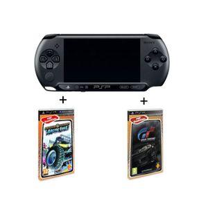 CONSOLE PSP PACK PSP STREET NOIRE + GRAN TURISMO+MOTORSTORM