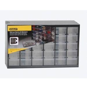 BOITE A COMPARTIMENT STANLEY Casier de rangement 30 compartiments multi
