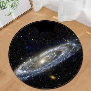 TAPIS Space Star Terre Round Design Tapis Tapis Salon Ch