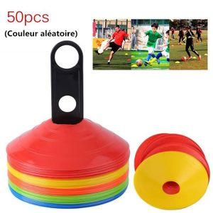 BALISAGE - CONE - PLOT Cones de Marquage Set de 50 Multicolore, Cône d'En