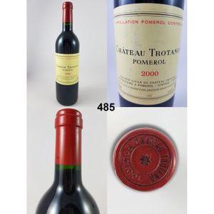 VIN ROUGE Château Trotanoy 2000 - N° : 485, Pomerol, Rouge