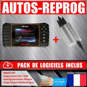 OUTIL DE DIAGNOSTIC ICARSOFT CR PLUS OBD outil de garage multimarques