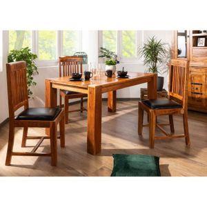 TABLE À MANGER SEULE Table à manger rectangulaire 140x90cm, 4 à 6 Perso