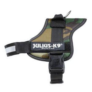 HARNAIS ANIMAL Julius-K9, 162M0, Powerharness, Taille: 0, Camoufl