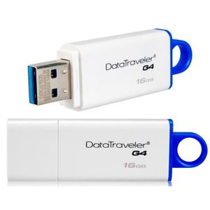CLÉ USB Kingston DTIG4 / 16GB USB3.0 Flash Drive (blanc...