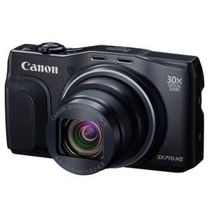 APPAREIL PHOTO COMPACT CANON POWERSHOT SX710 HS - CMOS 20 Mégapixels - Zo