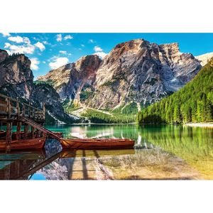PUZZLE Puzzle 1000 pièces : Les Dolomites, Italie aille U