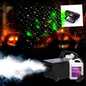 Noir Mini lumière stroboscopique Lightning Spooky Effet Fête d/'Halloween Prop Décoration