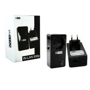 COURANT PORTEUR - CPL INSTAR 2 Adaptateurs CPL IN-LAN 500P 500Mbps Noir