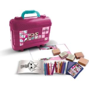 KIT DE DESSIN LOL SURPRISE Malette de timbres et dessins