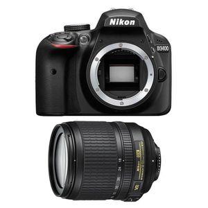 APPAREIL PHOTO RÉFLEX NIKON D3400 + AF-S DX 18-105mm 3,5-5,6G ED VR GARA
