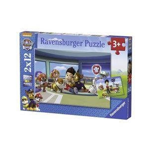 FIGURINE - PERSONNAGE Puzzle 2x12 patte patrouille amis de cavalier