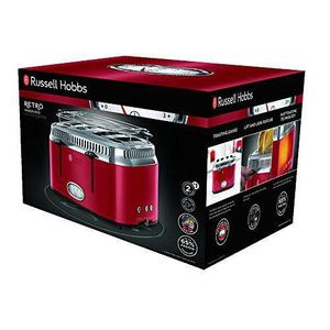 GRILLE-PAIN - TOASTER Russell Hobbs 21690-56Grille-Pain Rétro Ribbon 4de