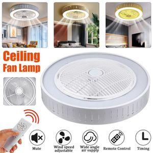VENTILATEUR DE PLAFOND TEMPSA 32W Ventilateur de plafond avec lumiere pla