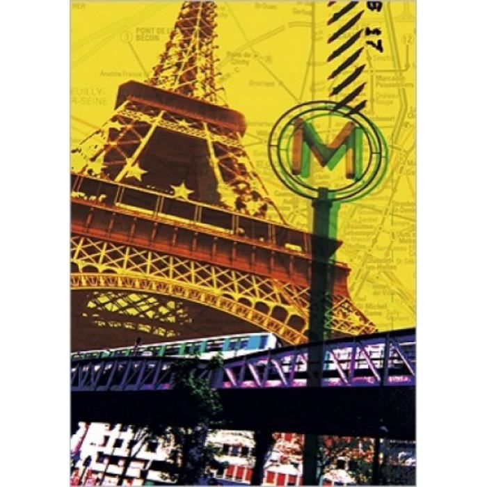 poster tour eiffel achat vente poster tour eiffel pas. Black Bedroom Furniture Sets. Home Design Ideas