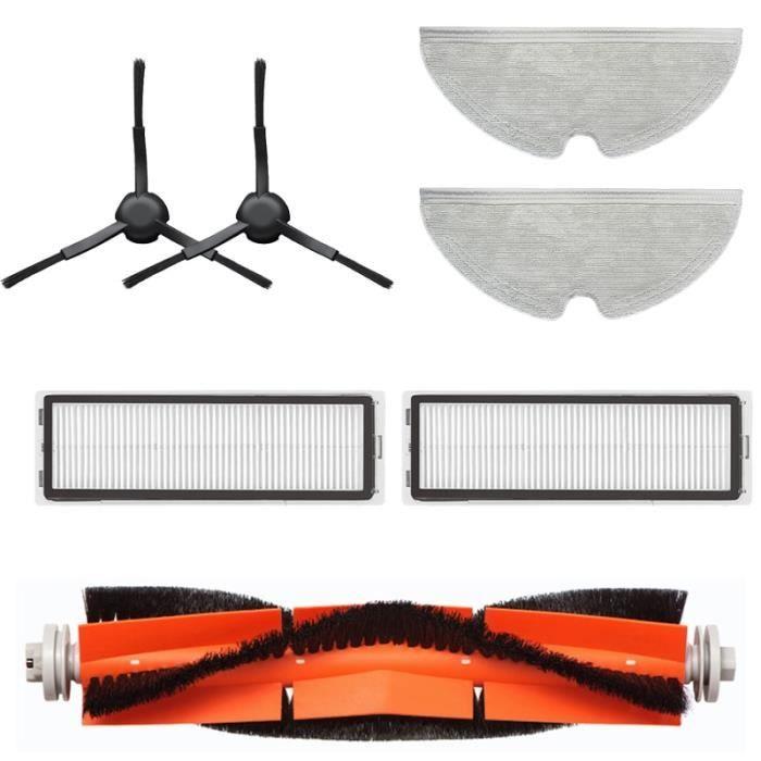 SET 7PCS - Accessoires remplaçables pour aspirateur Dreame Bot L10 Pro, brosse latérale au sol principal, cou