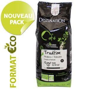 DESTINATION Café Grains Arabica Robusta 1kg