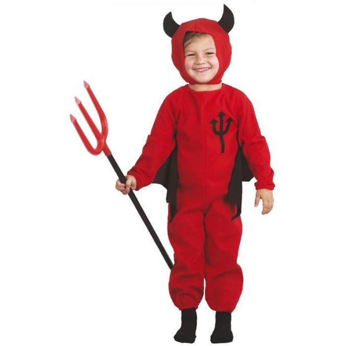 Déguisement Démon Diablotin Halloween Taille 2-...