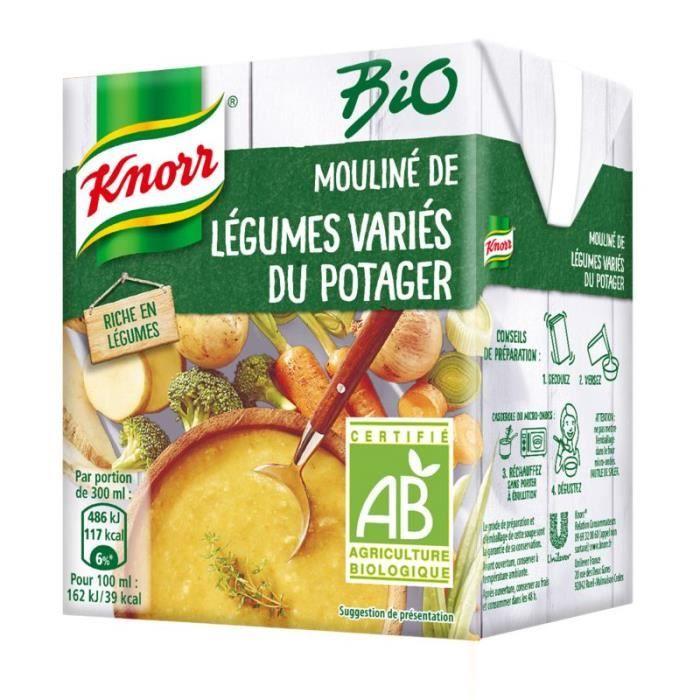 Soupe moulinée de légumes divers 300 cl Knorr