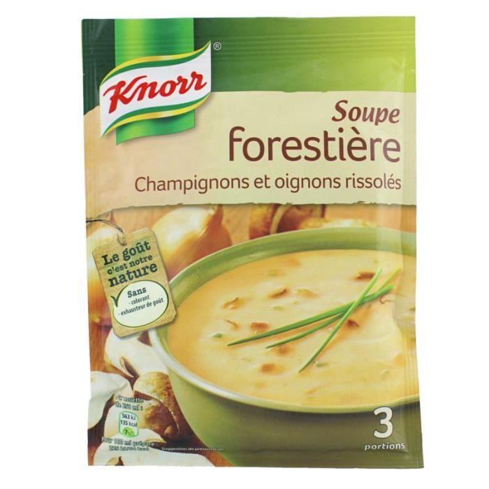 Soupe forestière aux champignons 85 g Knorr
