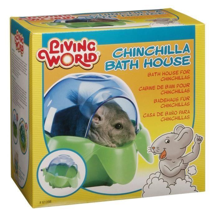 Cabine de bain pour chinchilla